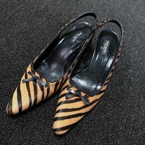 Precious Kate Spade Tiger Slingbacks 71/2